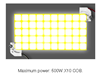 Obrázok LED COB X10 modulárne 10x | 9V | 1000 lm | 2100 mA | 5000K