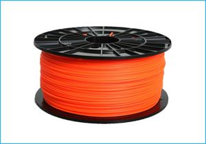 Obrázok PLA tlačová struna 1,75 - vlákno oranžové 1 kg