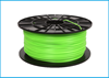 Obrázok PLA tlačová struna 1,75 - vlákno zeleno-žlté 1 kg