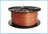 Obrázok PLA tlačová struna 1,75 - vlákno oranžovo-hnedé 1 kg