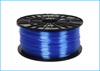 Obrázok ABS-T tlačová struna 1,75 - vlákno transparentná modrá 1 kg