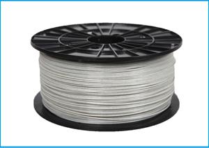 Obrázok ABS-T tlačová struna 1,75 - vlákno biela perla s trblietkami 1 kg