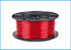 Obrázok PETG tlačová struna 1,75 - vlákno priehľadná červená 1 kg