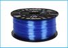 Obrázok PETG tlačová struna 1,75 - vlákno priehľadná modrá 1 kg