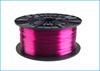 Obrázok PETG tlačová struna 1,75 - vlákno priehľadná fialová 1 kg