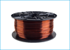 Obrázok PETG tlačová struna 1,75 - vlákno priehľadná hnedá 1 kg