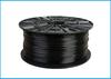 Obrázok PETG tlačová struna 1,75 - vlákno priehľadná čierna 0,5 kg