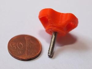 Obrázok Skrutky s plastovou hlavou M3 - 10 mm oceľ - Ni